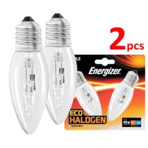 Energizer Halogen Candle Type 2PK