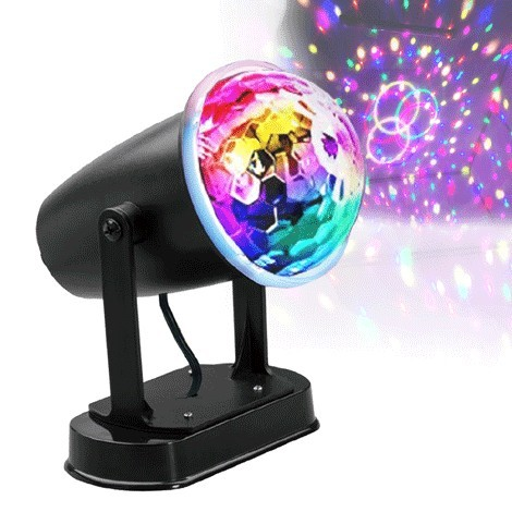 Dual Powered LED Party Light