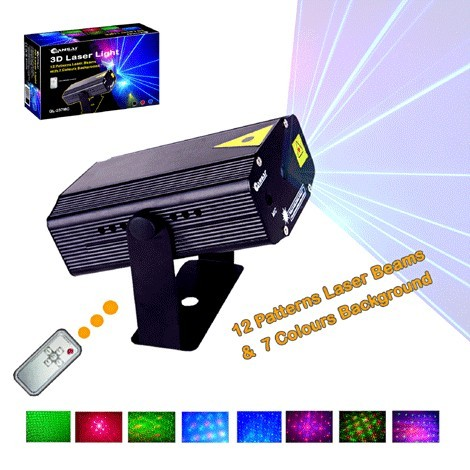 3D Laser Light