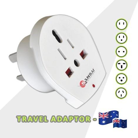 World to Australia/NZ Travel Adaptor