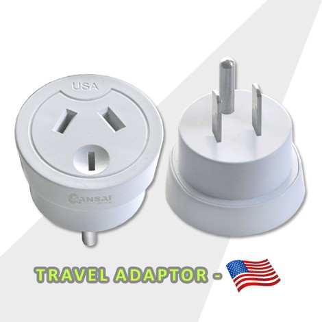 Travel Adaptor- USA