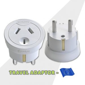 Travel Adaptor- Europe