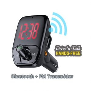 Bluetooth Car Kit • FM Transmitter